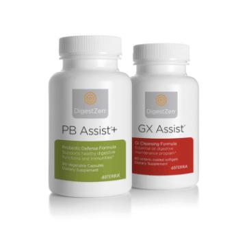 dōTERRA Cleanse & Renew - GX Assist® & PB Assist+®