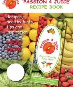 Passion 4 Juice Recipe Book – eBook