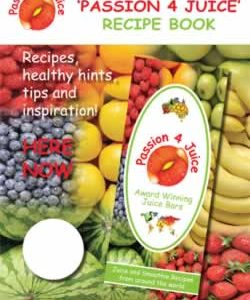 Passion 4 Juice Recipe Book – Hardcopy