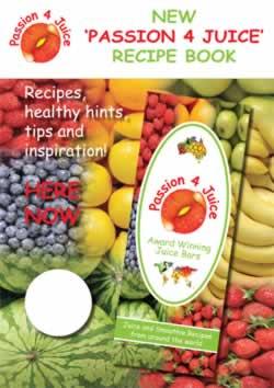 Passion 4 Juice Recipe Book - Hardcopy