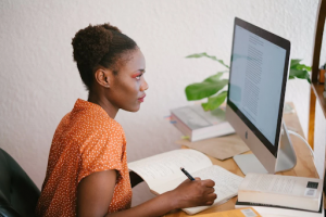 3 Ways To Improve Your Desk Posture and support your gut health