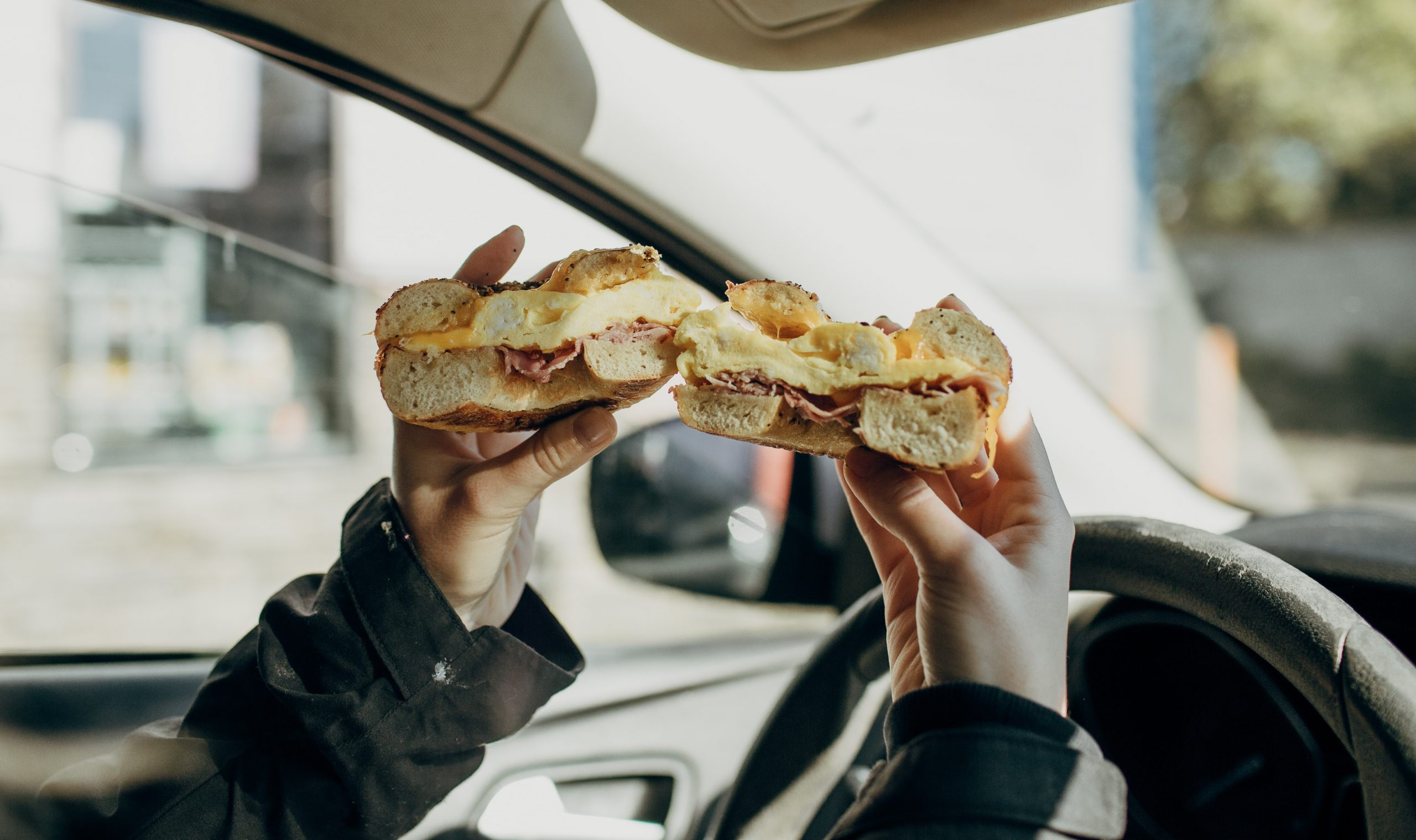 Don't Eat And Drive: The Shocking Truth About Road-Based Snacking